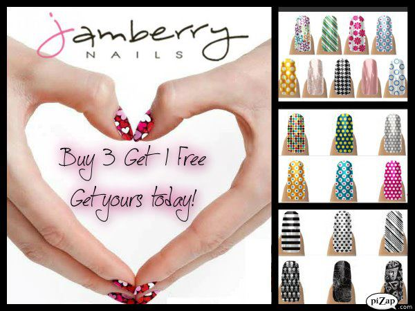 What is a jamberry nails party ~ Beautify themselves with sweet nails